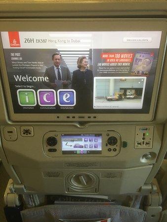Emirates: Plenty of power sockets