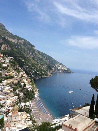 Hotel Villa Franca: View from balcony