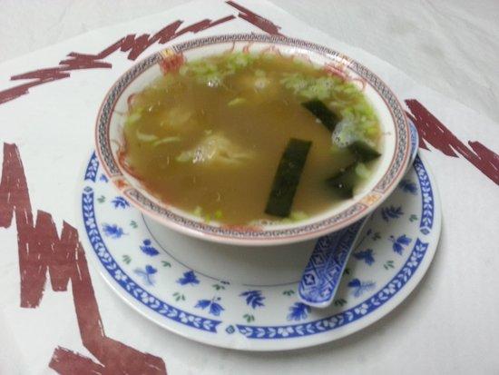 Hong Kong Restaurant Blanes : Sopa WanTon // Wan Ton Soup