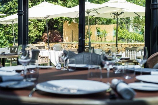La Terrasse Picture Of Restaurant Les Jardins D Anais
