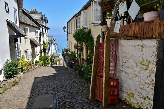 Clovelly Village照片