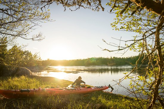 Fejan Outdoor: You are free to camp and land your kayak on all islands as long as you leave no trace.