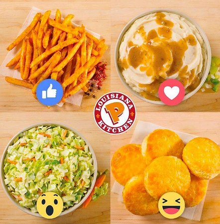 Popeyes Louisiana Kitchen: Our Great Signature sides