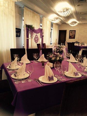 Garden Gourment Cafe: банкетный зал для свадьбы