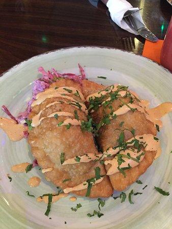 The Bungalow: beef empanadas