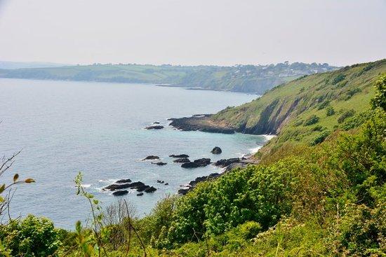 Maenporth, UK: Coast Path Impressions