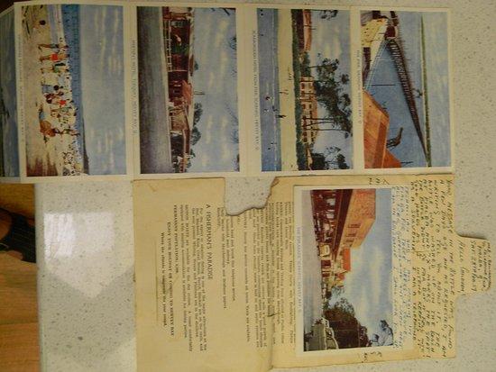 Hervey Bay Historical Village & Museum: 1959 Post Card of Hervey bay