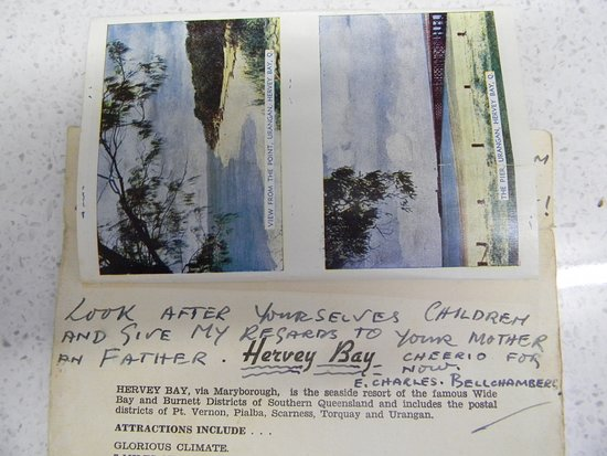 Hervey Bay Historical Village & Museum: From the finder of the bottle.