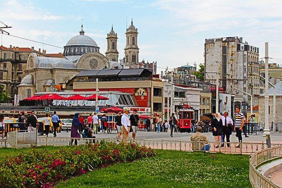 Taksim Square: Площадь Таксим