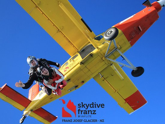Franz Josef, New Zealand: NZ's Highest Skydive - 19,000 ft!