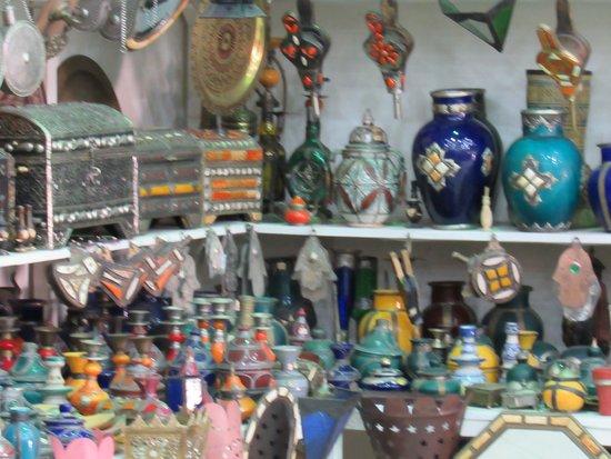 Trilho Salama Day Tours: trabalhos manuais em Rabat