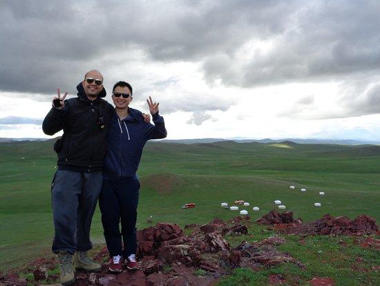 Zuunmod, Mongólia: Hiking a nearby mountain