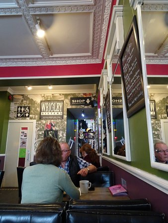 The Reel: To the right of the entrance to Music School, the music shop is crammed with musical goodies