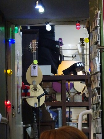 The Reel: The Music shop is a fascinating place to explore full of great items to take home as presents