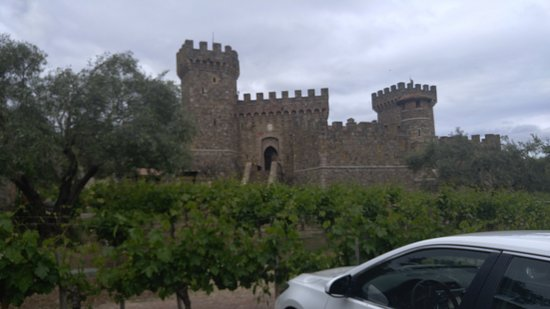 Castello di Amorosa: Caste Gate and Drawbridge