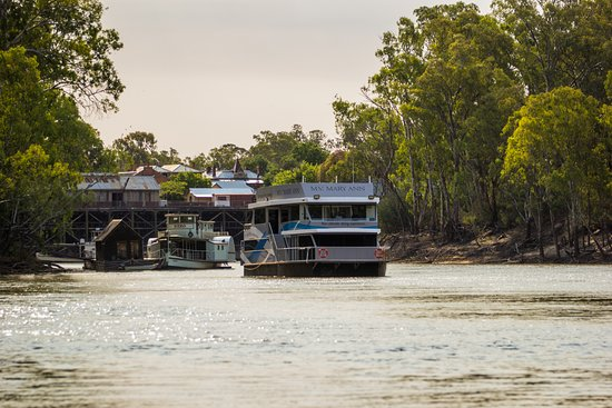 MV Mary Ann - historic Port of Echuca