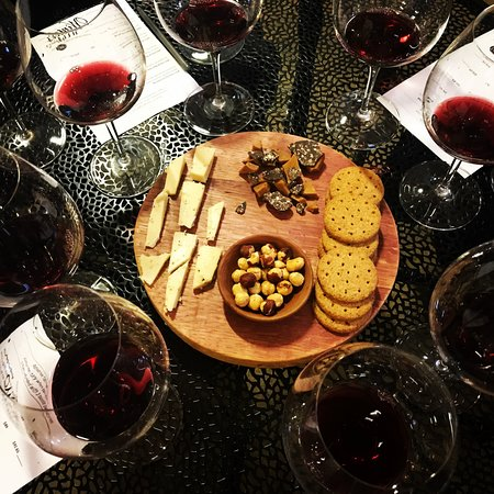 Winter's Hill Estate: Enjoy a Seated Reserve Tasting, paired with local cheese and snacks.