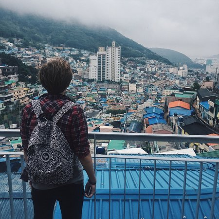 Gamcheon Culture Village ภาพถ่าย