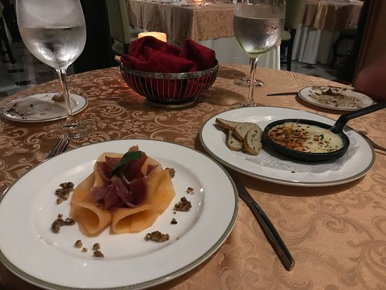 Secrets Maroma Beach Riviera Cancun : Dinner at Portofino.