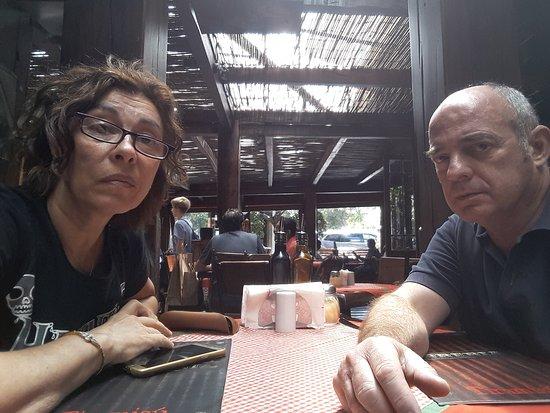 Pizzeria Tiramisú: Mesa para dos en Tiramisú