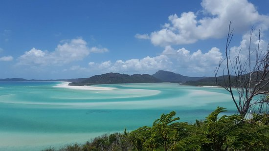 Hamilton Island, ออสเตรเลีย: Hill Inlet Lookout