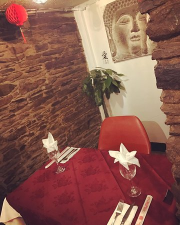 Red Lantern Launceston Chinese Restaurant : little corner Table for 2
