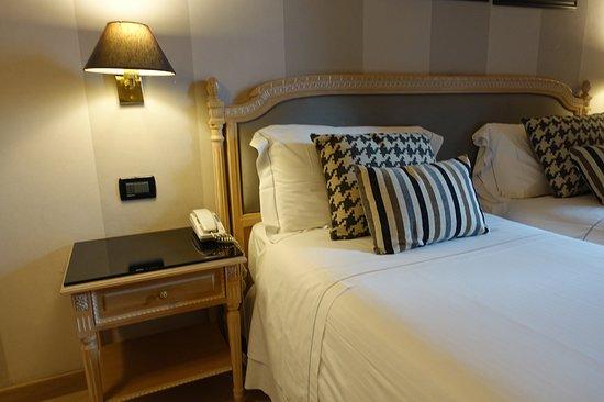 c-hotels Ambasciatori: /_/_/_/_/_/_/_/ 2018.3 撮影 小さめなベッド