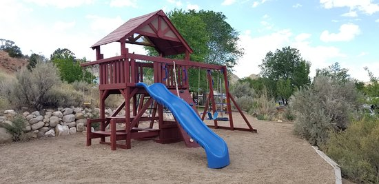 Cannonville, UT: Playground Equipment