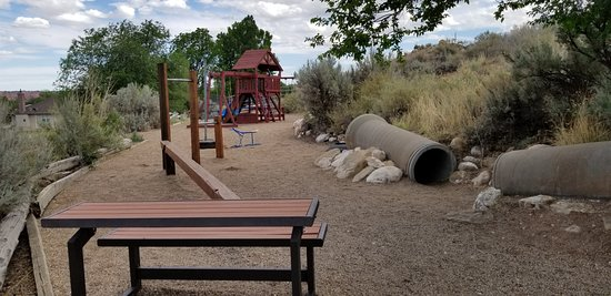 Cannonville, UT: Playground and Outdoor Games Area