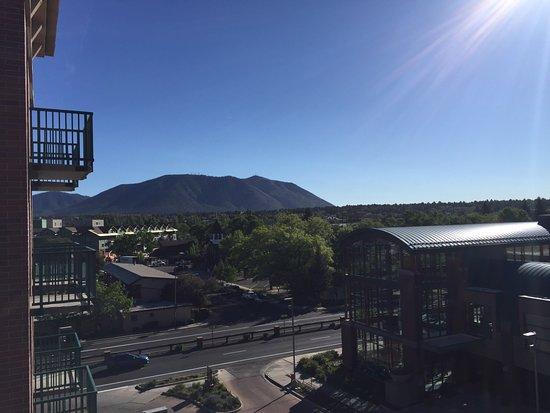 Drury Inn & Suites Flagstaff: View From 5th Floor Room Balcony
