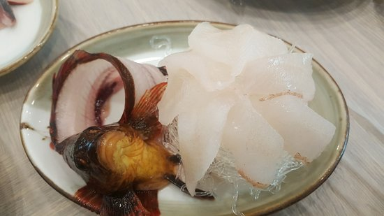 East Sea Sliced Fish Naturally Growing Speciality: 잡어회