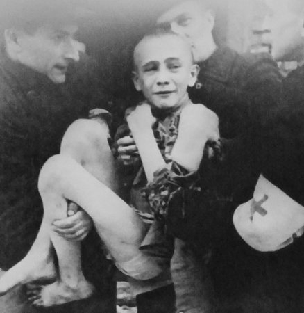 Dominion Museum: 15 Yr. Old Ivan Dudnik Rescued by Red Cross from Auschwitz