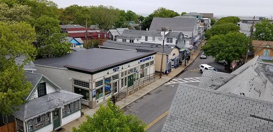 Oak Bluffs Inn: View from the bell tower