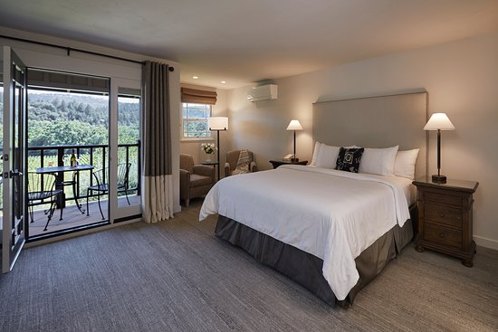 Wine Country Inn & Cottages Napa Valley: Deluxe Vineyard View