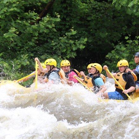 Rafting in the Smokies照片