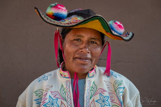 Titicaca For You: Luzmila, one of the members of our host family
