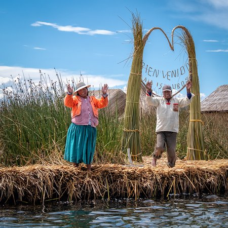 Titicaca For You : Welcome to Uros Islands