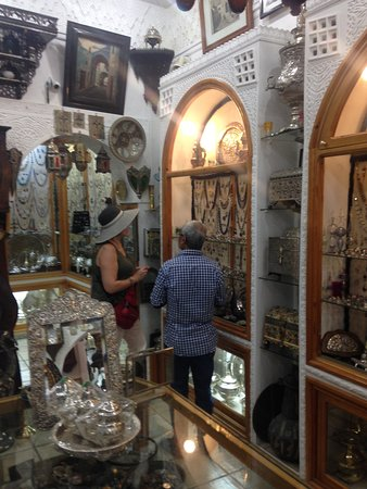 My Wife Is Negotiating With Antique Store Owner Picture Of Tangier