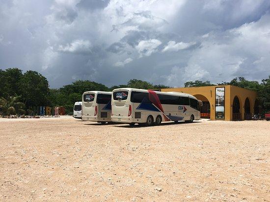 Cenote Hubiku: Parking