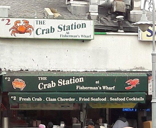 Crab Station at Fishermans Wharf Photo