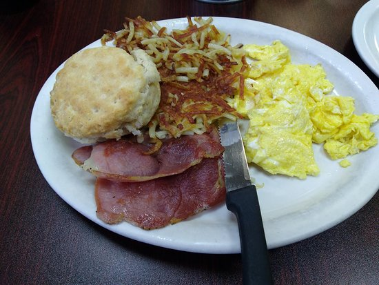 Wilkesboro, Carolina del Nord: One of the best breakfasts I have had in a long time.