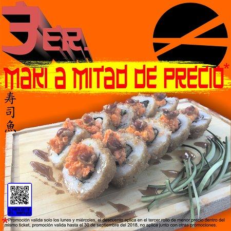 Sushi Sakana : PROMO LUNES Y MIERCOLES