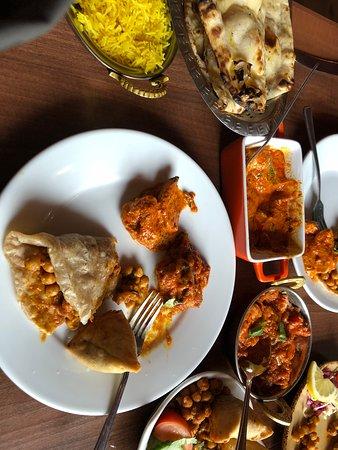 Kamasutra Edinburgh Indo Tapas Restaurant: Best Indian food!!