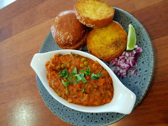 Briagolong, Australia: Pav Bhuji special, soon to be on our winter menu.  Gorgeous rich vegetable curry