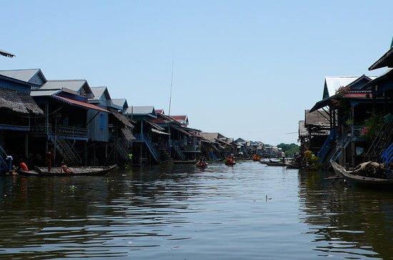 Aldeia Flutuante e City Tour em Siem...