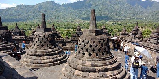 婆罗浮屠照片