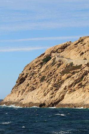 Phare de la Pietra : L'île