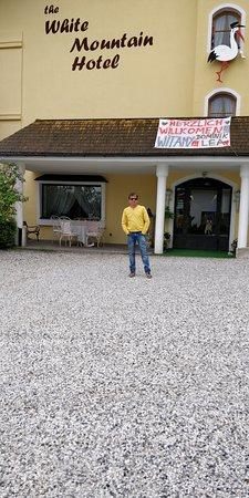 Telfes im Stubai, Austria: Hotel white mountain