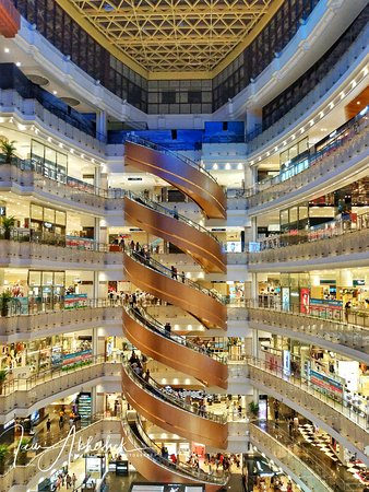 West Nanjing Road: Citic Square shopping mall on nanjing road
