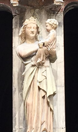 Cathedrale St. Sauveur: Virgin and Child